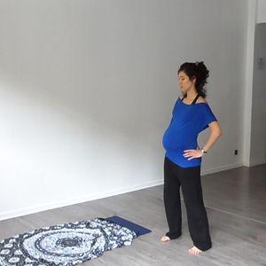 cours de yoga pendant la grossesse