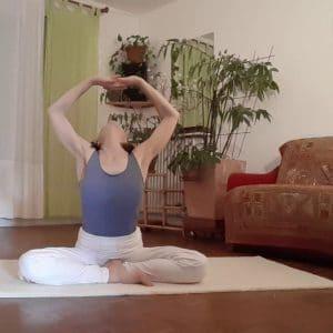 Yoga du Cachemire sur Zoom cours 1h30 avec Marie-Pierre Perrot